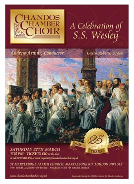 Chandos Chamber Choir flyer spring 10