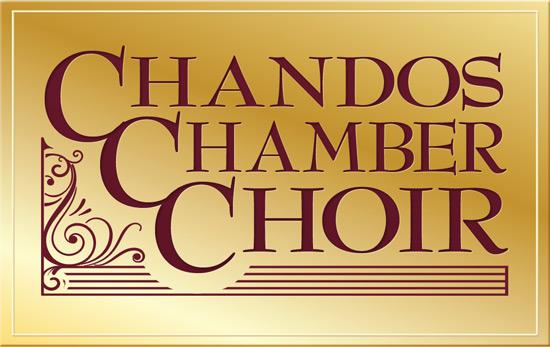 Chandos Chamber Choir logo on plaque