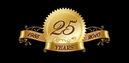 Chandos Chamber Choir 25th anniversary seal
