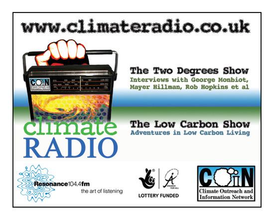 Climate Radio magazine ad