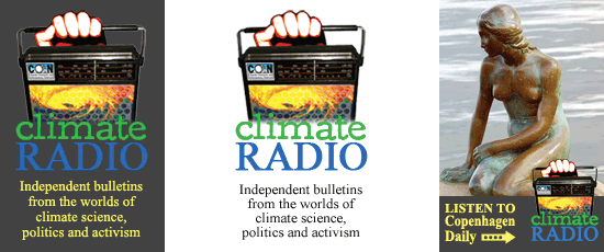 Climate Radio banners