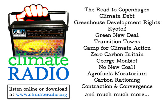 Climate Radio business card