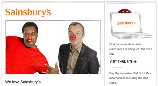 Red Nose Day - Lenny Henry and Graham Norton