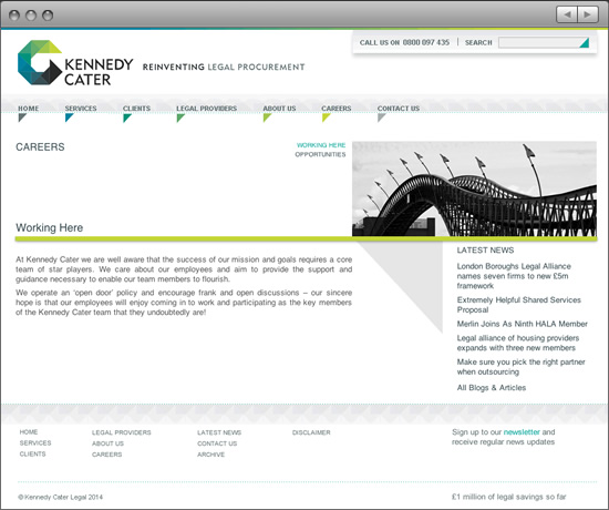 Kennedy Cater careers