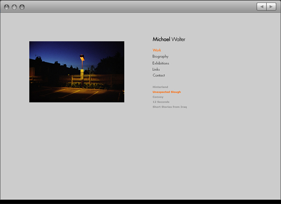 Michael Walter viewing screen 2