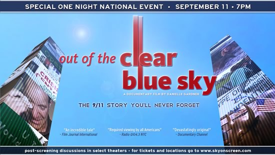 Out of the Clear Blue Sky banner