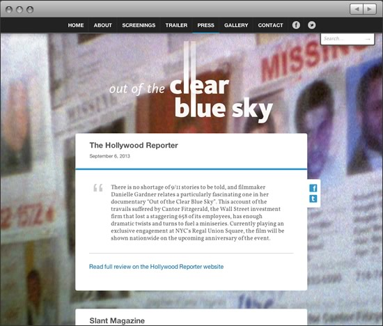 Out of the Clear Blue Sky reviews